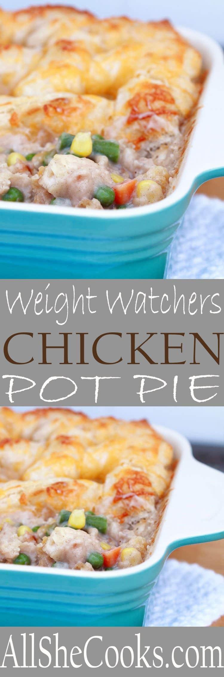 Low Calorie Chicken Pot Pie Recipe  Chicken Pot Pie Weight Watchers