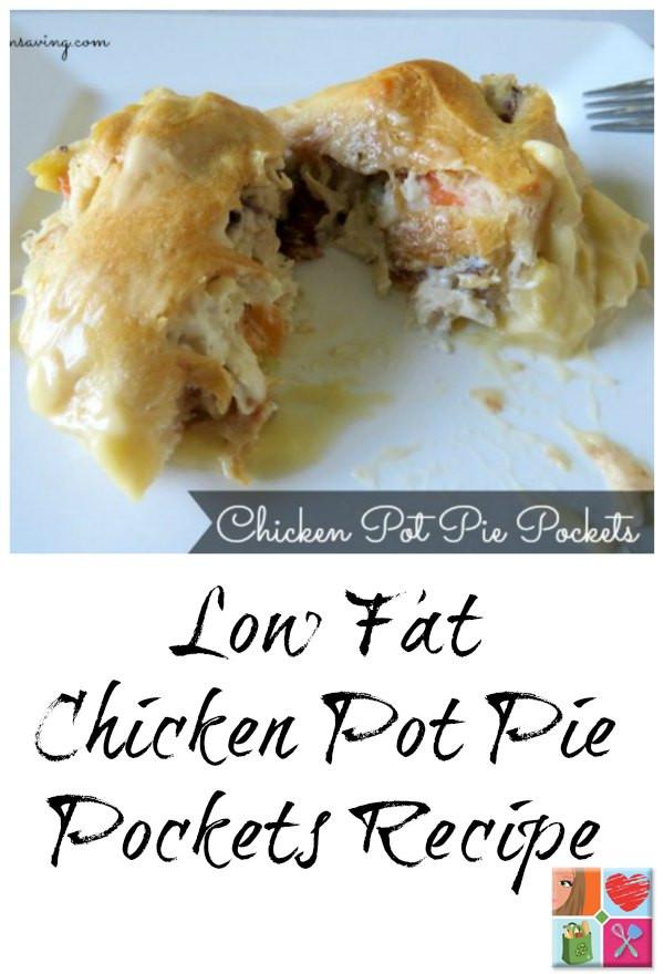 Low Calorie Chicken Pot Pie  Chicken Pot Pie Pockets Recipe Low Fat