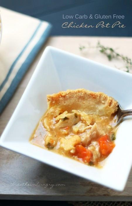 Low Calorie Chicken Pot Pie  Low Carb Turkey Pot Pie Recipe Gluten Free
