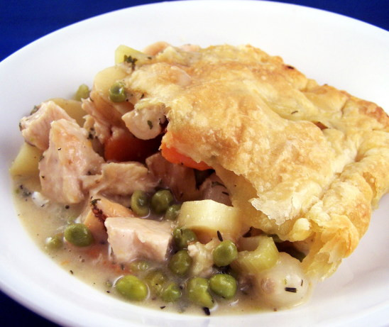 Low Calorie Chicken Pot Pie  Low Fat Chicken Pot Pie With Puff Pastry Recipe Food