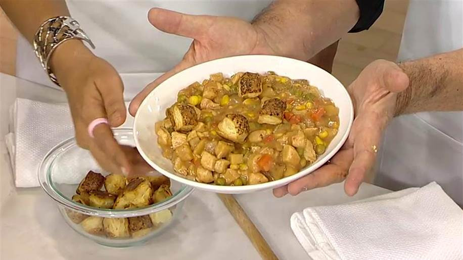 Low Calorie Chicken Pot Pie  Low Calorie Chicken Pot Pie TODAY