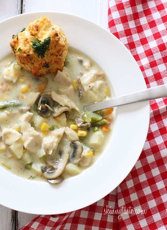 Low Calorie Chicken Pot Pie  The Top 7 Soups from Pinterest to Try This Fall Loren s