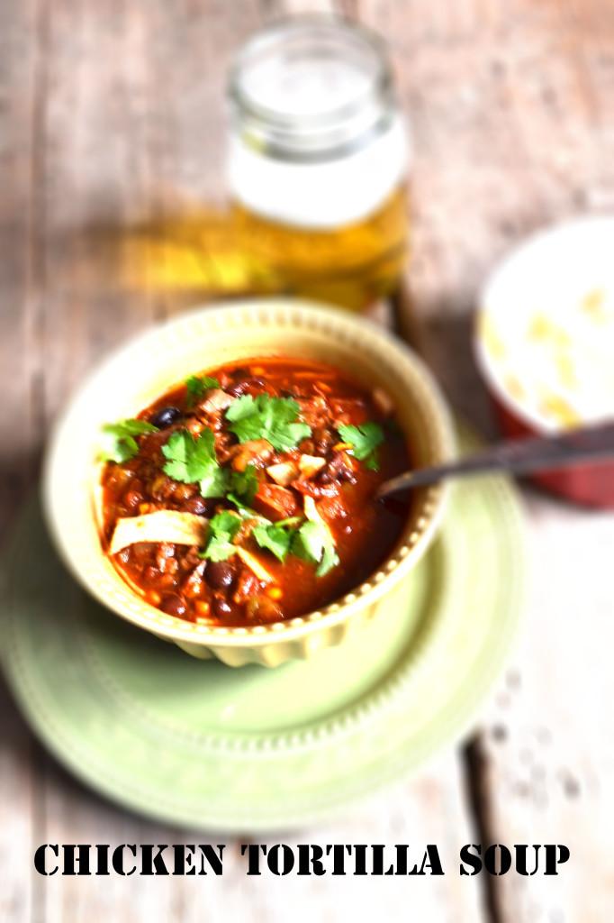 Low Calorie Chicken Tortilla Soup  Low Fat Chicken Tortilla Soup Recipe