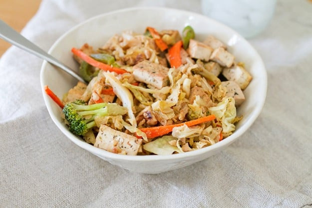 Low Calorie Chinese Food Recipes  Cabbage Stir Fry