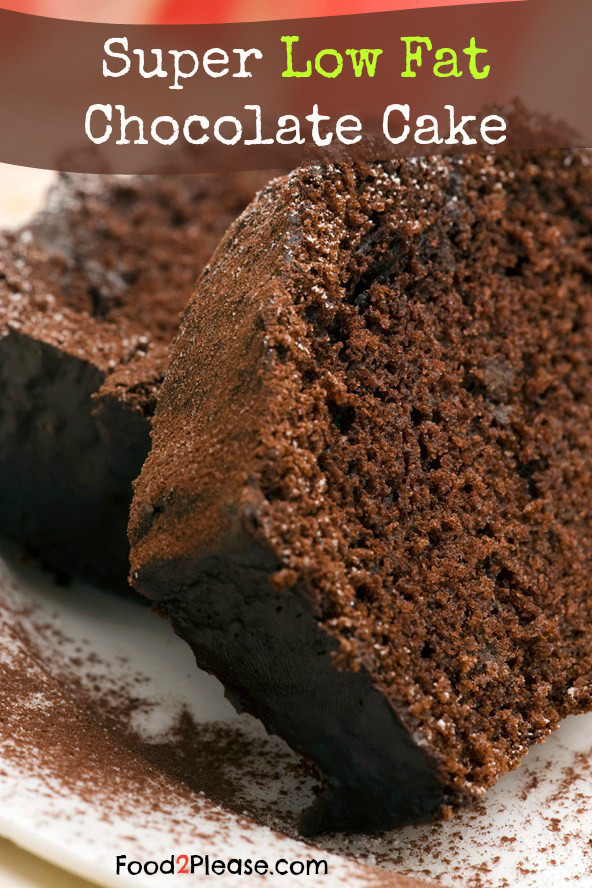 Low Calorie Chocolate Cake  Low Fat Cake Mix Recipe As Seen Dr Oz