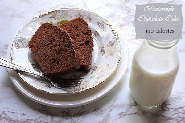 Low Calorie Chocolate Cake  Buttermilk Chocolate Cake Low Calorie Giveaway Closed