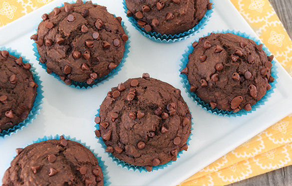 Low Calorie Chocolate Chip Muffins  Healthy Low Calorie Chocolate Muffin Recipe