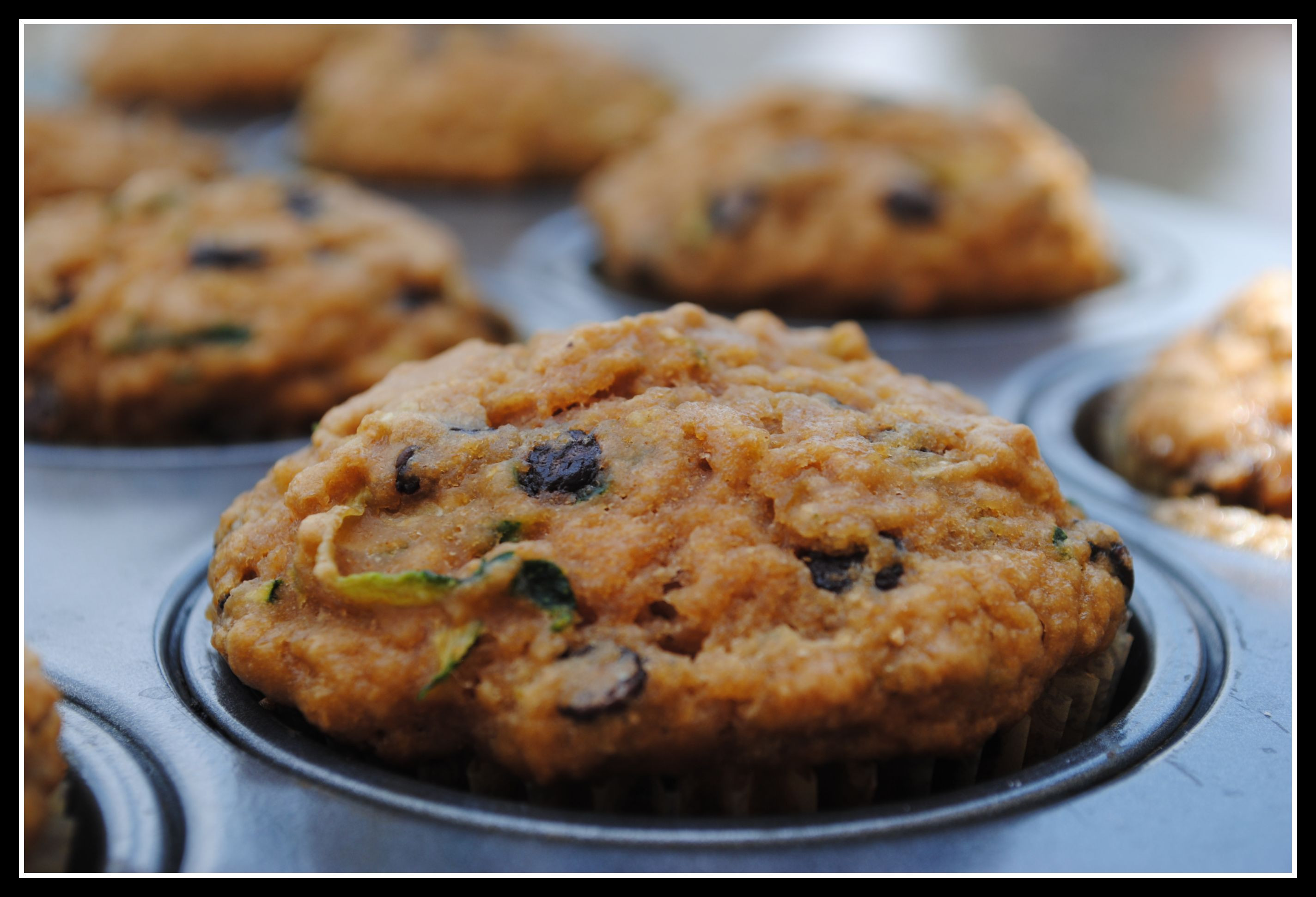Low Calorie Chocolate Chip Muffins  Low Fat Chocolate Chip Zucchini Muffins Weekly Menu