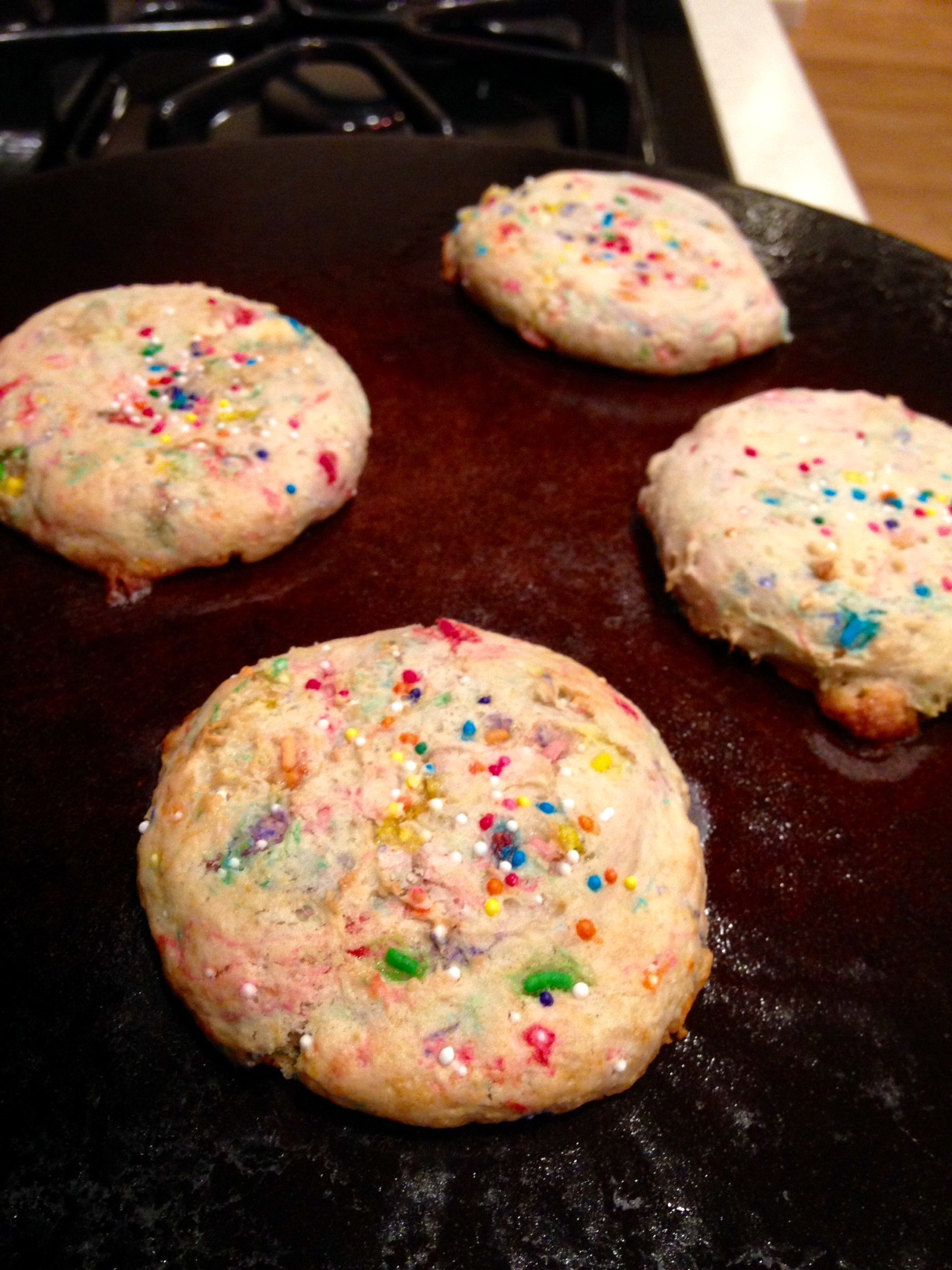 Low Calorie Christmas Cookies  NewYou Low Calorie Funfetti Cake Mix Cookies Recipe