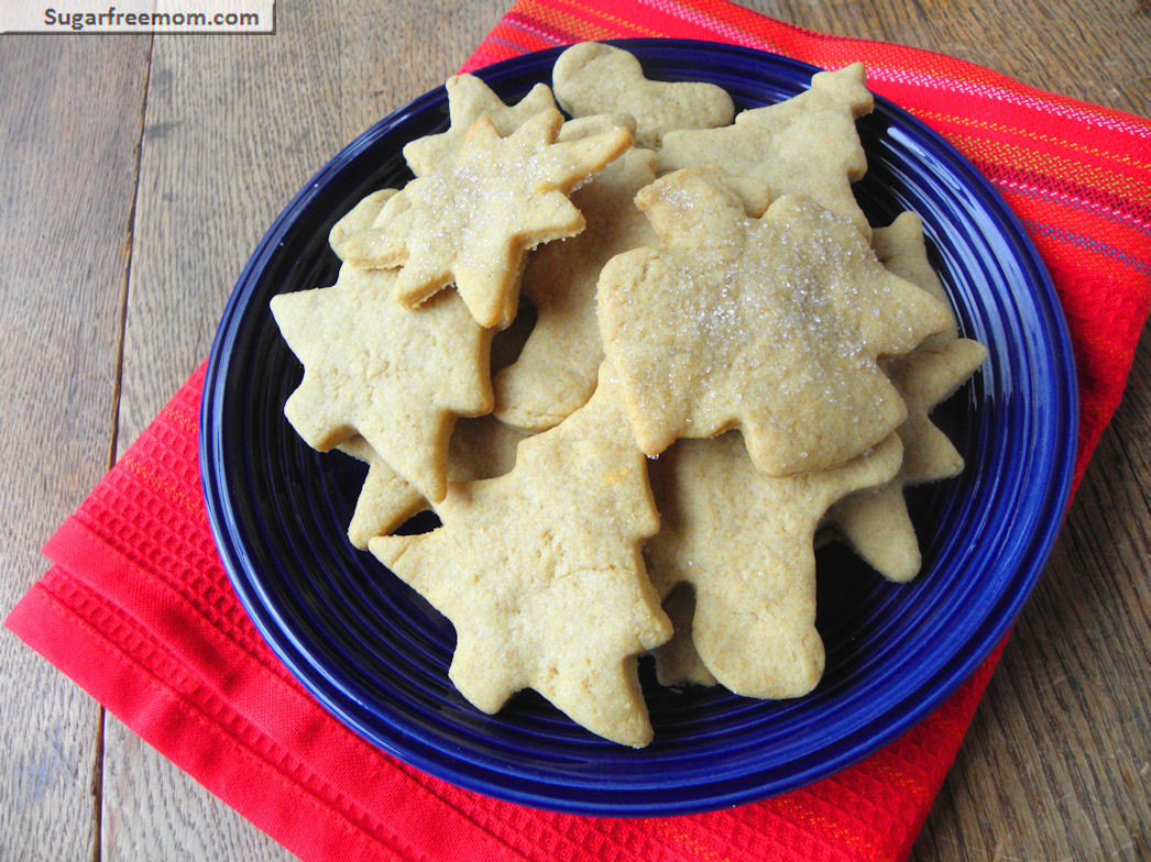 Low Calorie Christmas Cookies  Sugarless Low Calorie Sugar Cookies