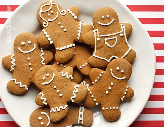 Low Calorie Christmas Cookies  Low Fat Gingerbread Cookies