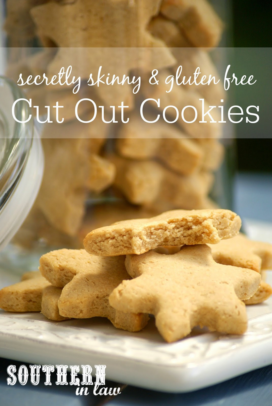 Low Calorie Christmas Cookies  Southern In Law Recipe Healthier Cut Out Cookies