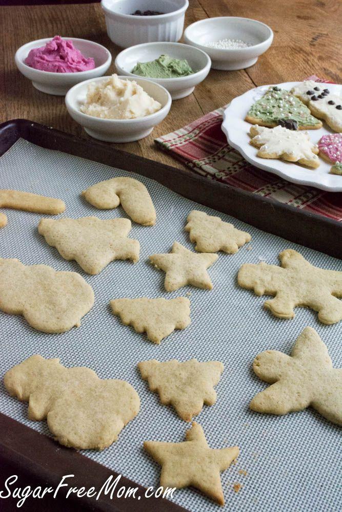 Low Calorie Christmas Cookies  Sugarless Low Calorie Sugar Cookies Recipe