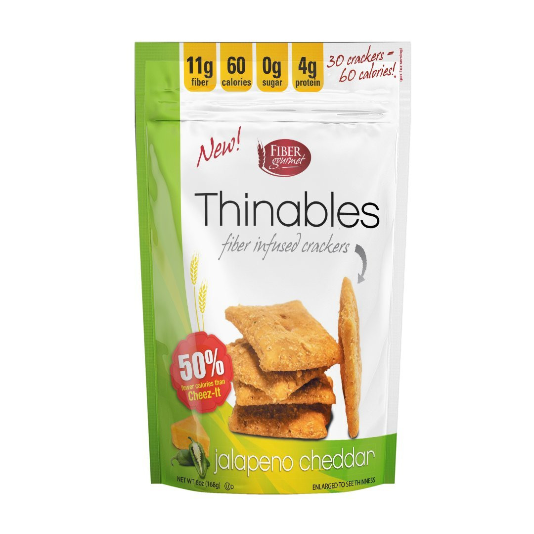 Low Calorie Crackers  Amazon Thinables Low Calorie Crackers 6 pack Sharp