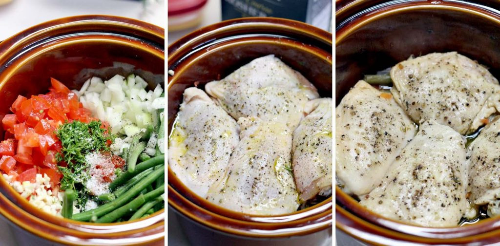 Low Calorie Crock Pot Chicken Breast Recipes  Chicken thigh recipes in a crock pot Food chicken recipes