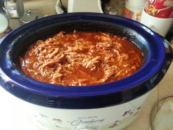 Low Calorie Crock Pot Chicken Breast Recipes  Easy Crock Pot BBQ Chicken Low Fat Recipe Genius Kitchen