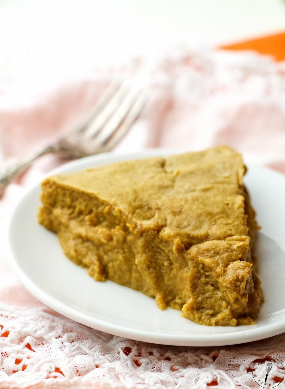 Low Calorie Crustless Pumpkin Pie  Low Calorie Crustless Pumpkin Pie