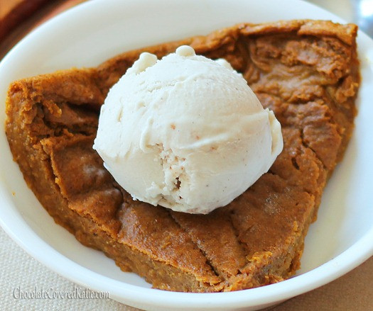 Low Calorie Crustless Pumpkin Pie  Crustless Pumpkin Pie low calorie recipe