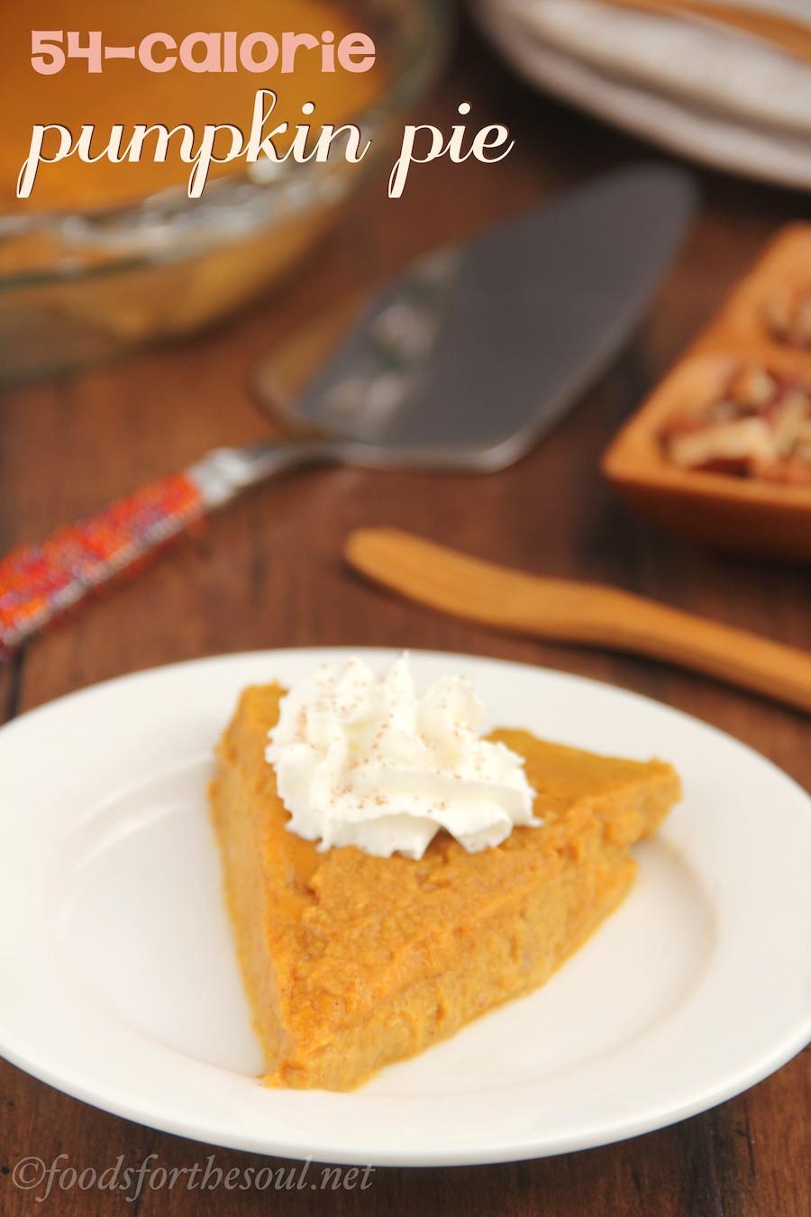 Low Calorie Crustless Pumpkin Pie  Crustless Pumpkin Pie