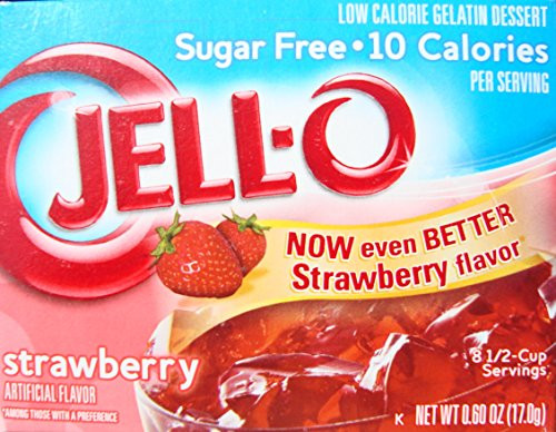 Low Calorie Desserts To Buy  Jell O Low Calorie Gelatin Dessert Sugar Free Strawberry