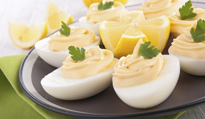 Low Calorie Deviled Eggs  Deviled Eggs with Salmon & Sour Cream Recipe