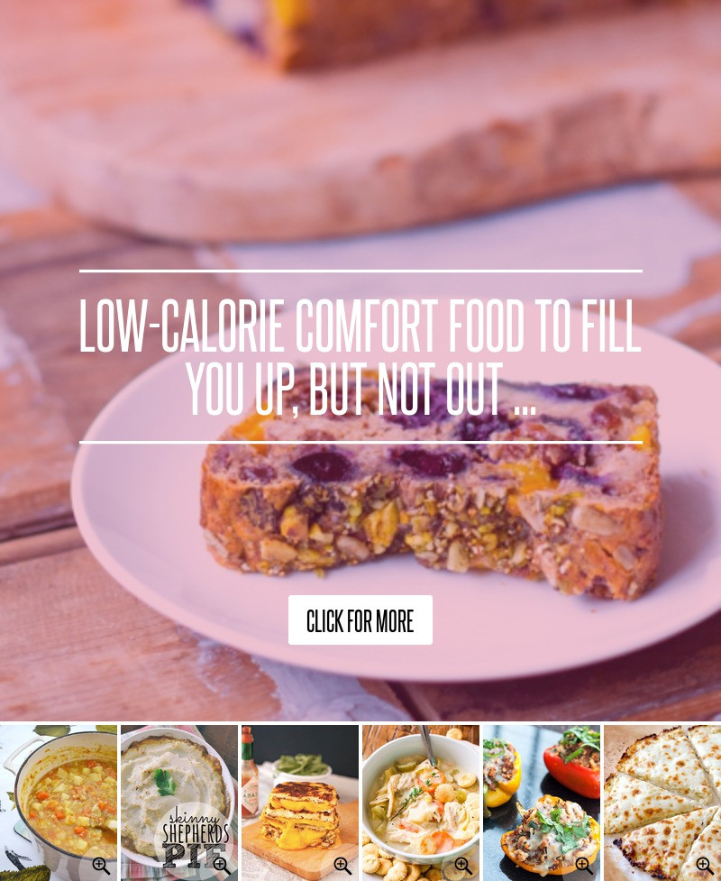 Low Calorie Dinners That Fill You Up  Low Calorie fort Food to Fill You up but Not out Food