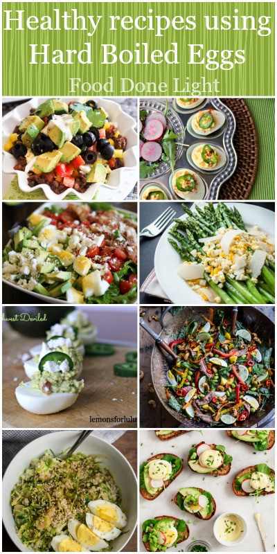 Low Calorie Egg Recipes  Healthy Hard Boiled Eggs Recipes Food Done Light