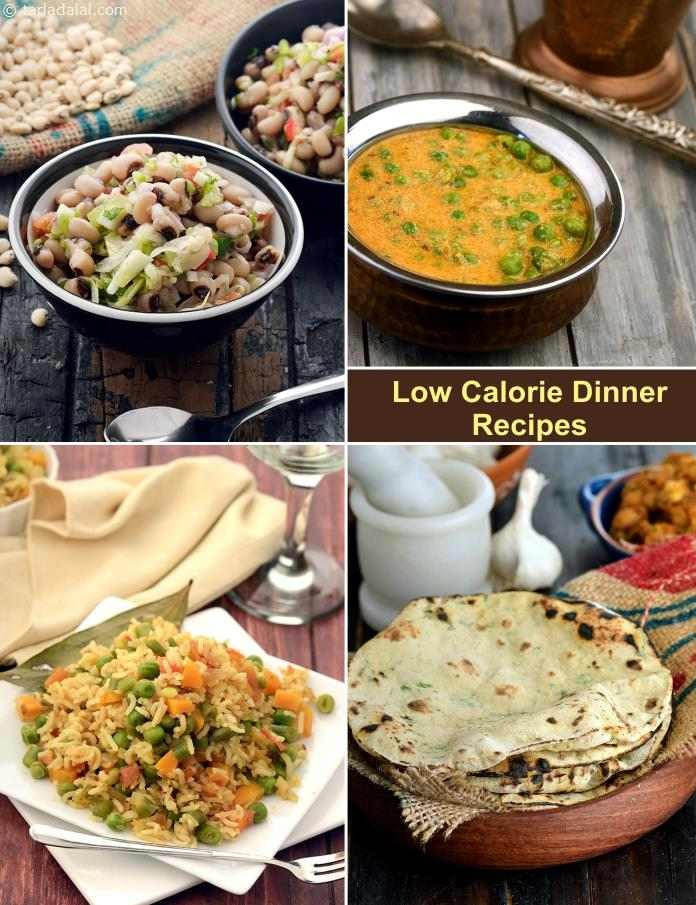 Low Calorie Food Recipes Indian  Low Calorie Indian Dinner Recipes Tarla Dalal
