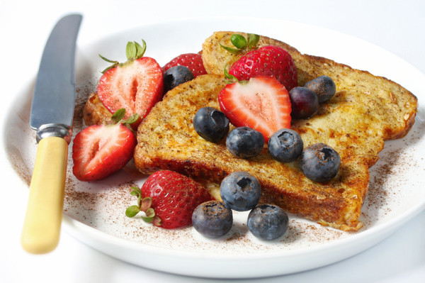 Low Calorie French Toast  Delicious Low Calorie Breakfast Recipe Whole Wheat Berry