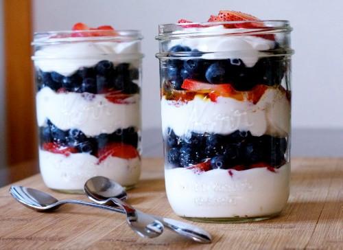Low Calorie Fruit Desserts  Easy Fruit Parfait Dessert Recipe By Foodpassion