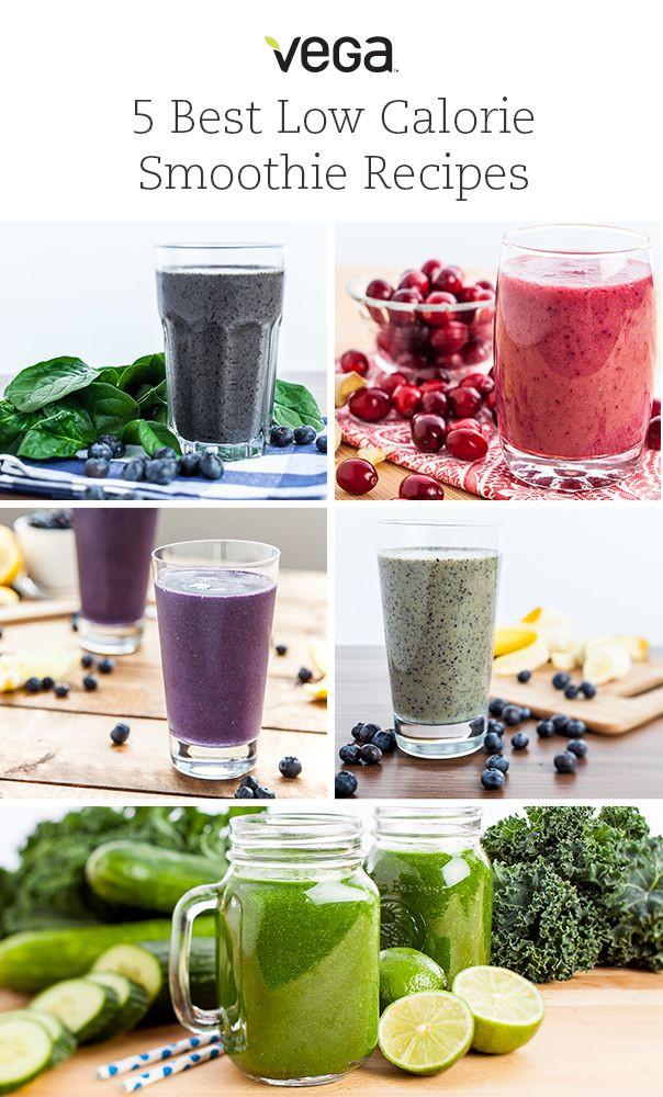 Low Calorie Fruit Smoothie Recipes  Best 25 Low calorie smoothies ideas on Pinterest