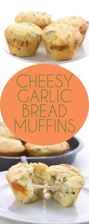 Low Calorie Garlic Bread  Low Carb Cheesy Garlic Bread Muffins