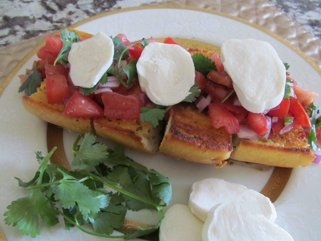 Low Calorie Garlic Bread  Garlic Bread Bruschetta Recipe With Low Calorie Options