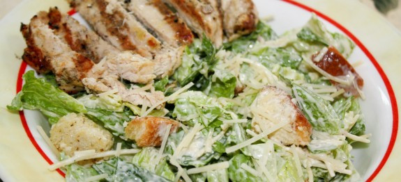 Low Calorie Grilled Chicken Recipes  Low Calorie Grilled Chicken Caesar Salad LindySez