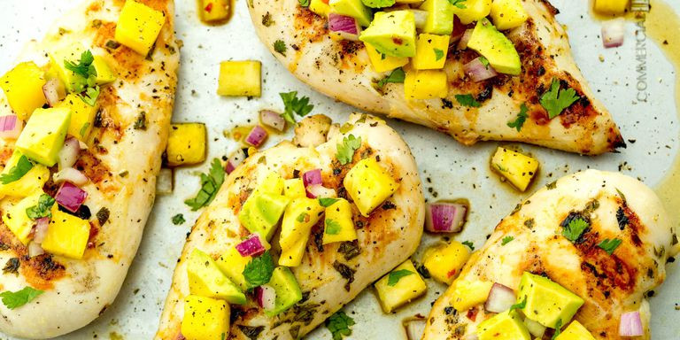 Low Calorie Grilled Chicken Recipes  50 Best Healthy Summer Recipes Low Calorie Summer Meals
