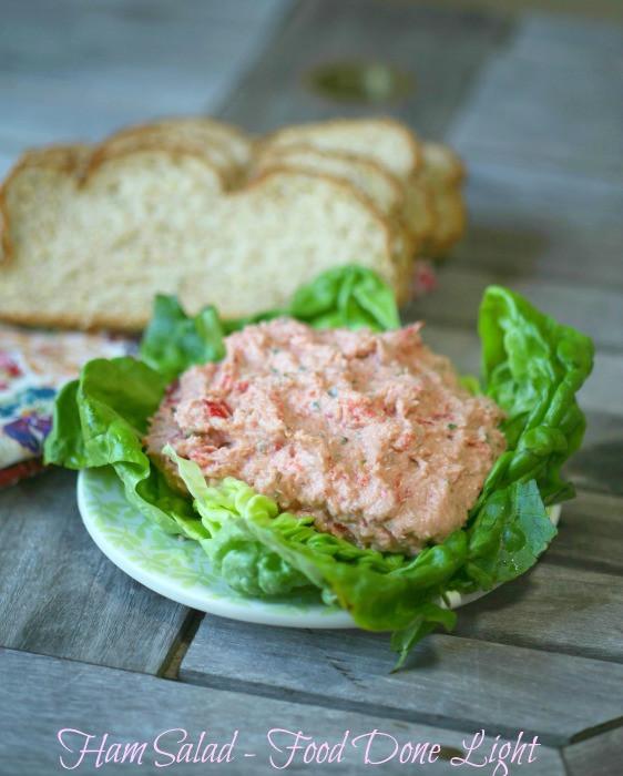 Low Calorie Ham Recipes  healthy ham salad recipe