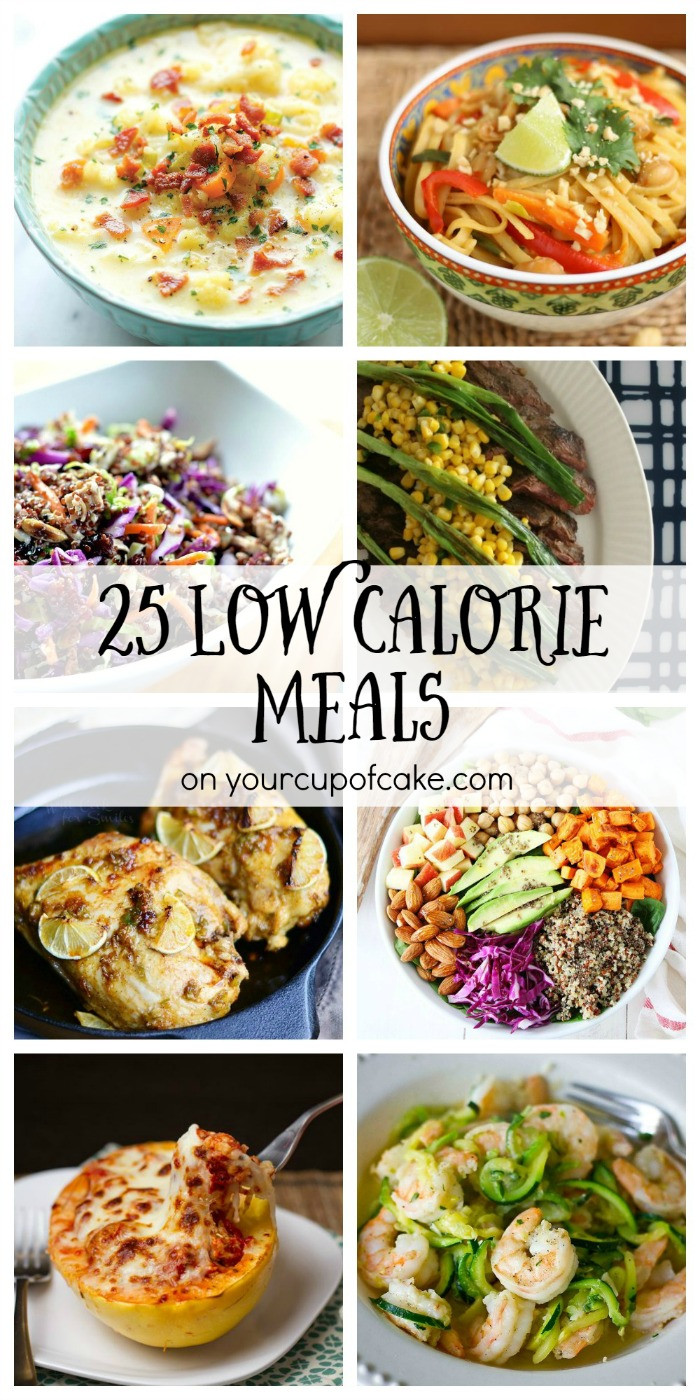 Low Calorie Healthy Dinners  25 Low Cal Meals Your Cup of Cake