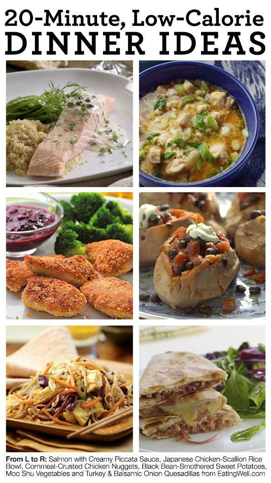 Low Calorie Healthy Dinners  41 best LOW CALORIE HIGH FIBER DIET images on Pinterest