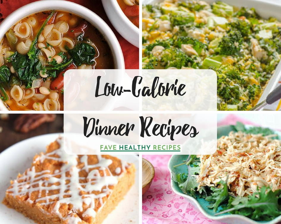 Low Calorie Healthy Dinners  20 Low Calorie Dinner Recipes
