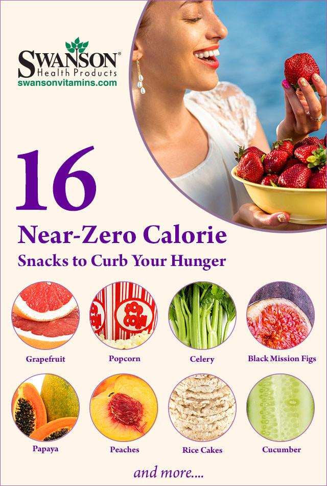 Low Calorie Healthy Snacks  16 Near Zero Calorie Snacks = Best Low Calorie Snacks
