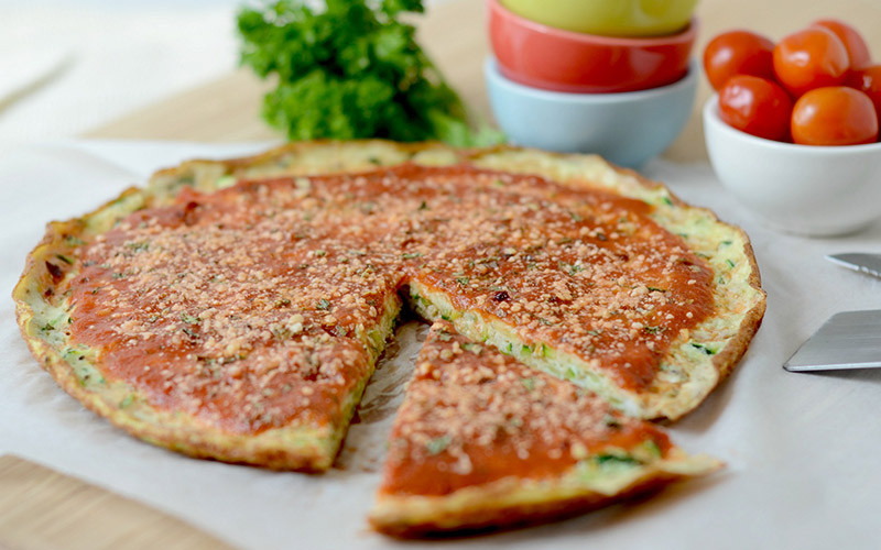 Low Calorie High Protein Recipes Weight Loss  Low Carb High Protein Breakfast Pizza Eggs Recipe