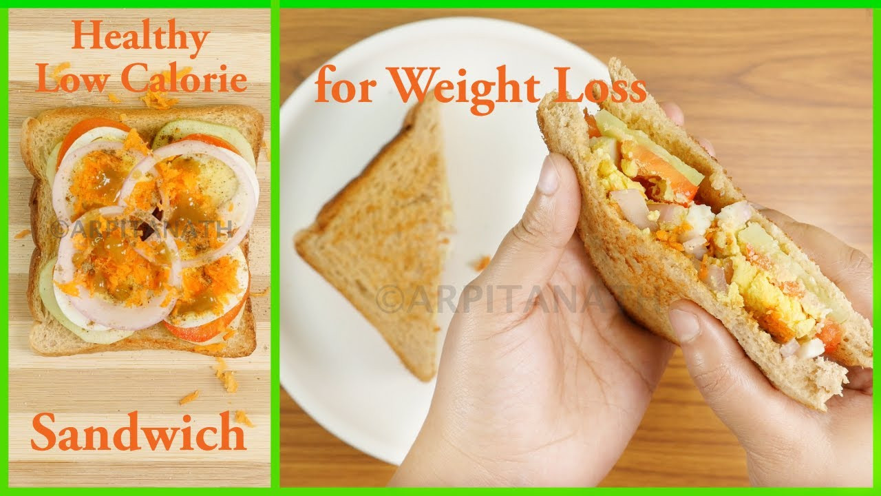 Low Calorie High Protein Recipes Weight Loss  Healthy Weight Loss Sandwich Recipe Low Calorie High