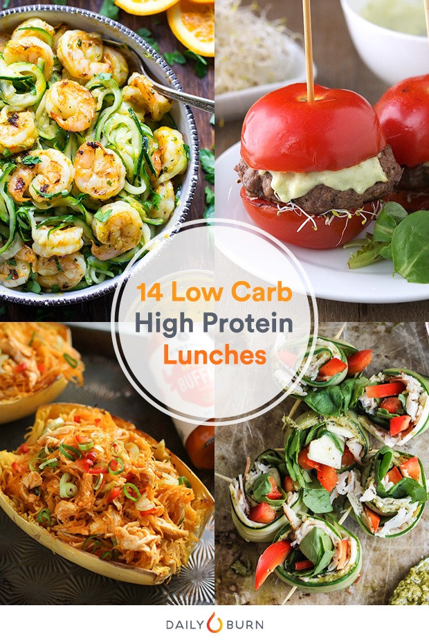 Low Calorie High Protein Recipes Weight Loss  14 High Protein Low Carb Recipes to Make Lunch Better