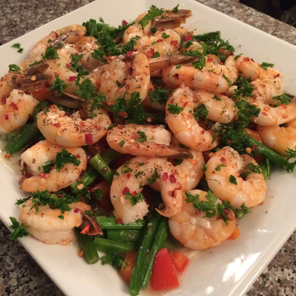 Low Calorie High Protein Recipes Weight Loss  Lemon Garlic Shrimp Recipe TingFit