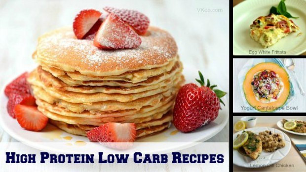 Low Calorie High Protein Recipes Weight Loss  High protein low carb recipes 8 easy and healthy dishes