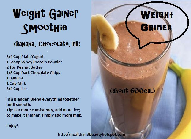 Low Calorie High Protein Smoothies  WeightGainer Smoothie Low Fat Diet