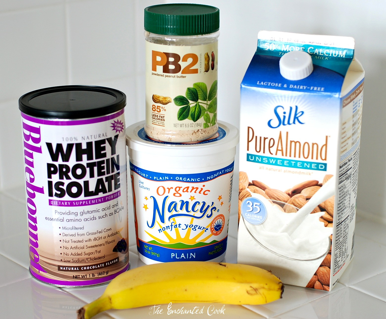 Low Calorie High Protein Smoothies  The Enchanted Cook Chocolate PB and Banana Smoothie