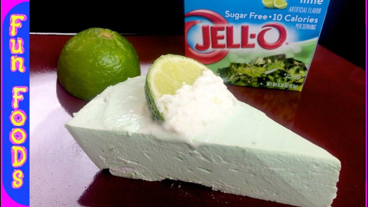 Low Calorie Key Lime Pie  No Bake Key Lime Pie