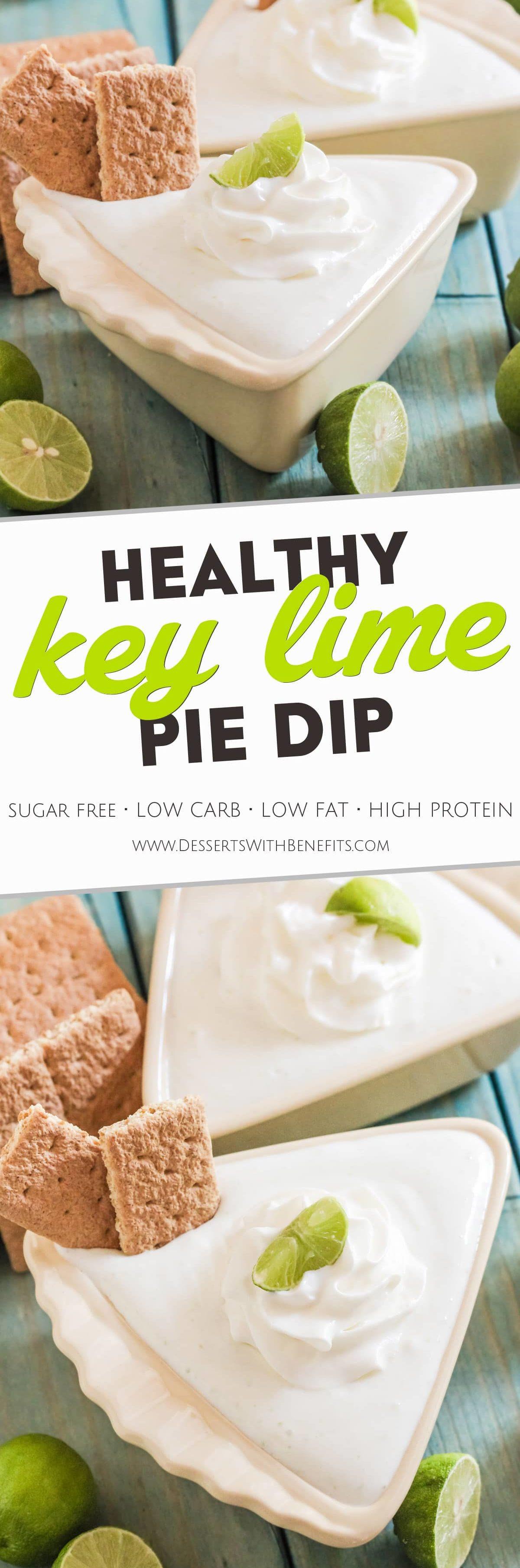 Low Calorie Key Lime Pie  Healthy Key Lime Pie Dip Recipe