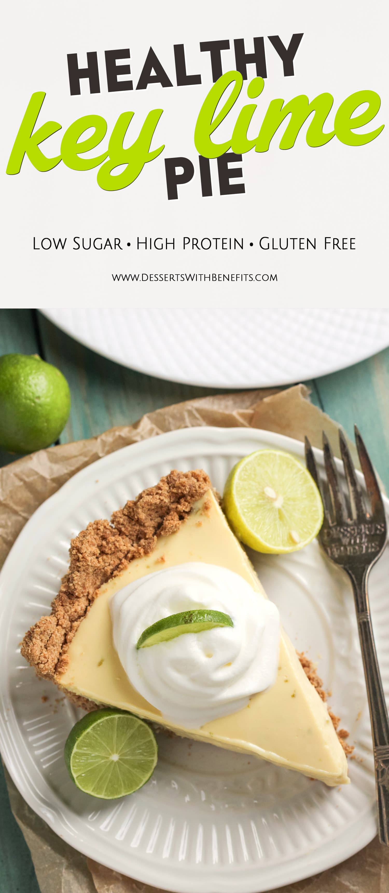 Low Calorie Key Lime Pie  Easy Healthy Key Lime Pie Recipe